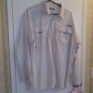 Columbia Long Sleeve Fishing Gear Shirt